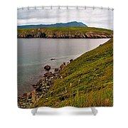 Ferryland Head-nl Shower Curtain