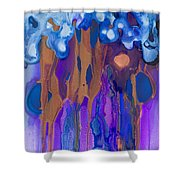 Fertile Forest Shower Curtain