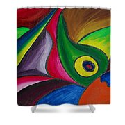 Fertile Ground Shower Curtain by Donna Blackhall