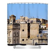 Fes Cityscape In Morocco Shower Curtain