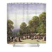 Festival At St. Cloud, C.1860 Shower Curtain