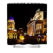 Festival Of Lights Gendarmenmarkt Berlin Shower Curtain