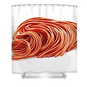 Fettuccine Pasta Shower Curtain