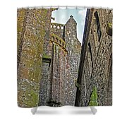 Feudal Canyon Shower Curtain