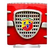 Fiat Emblem Shower Curtain by Jill Reger