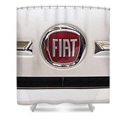 Fiat Logo Shower Curtain