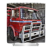 Fiat Truck Shower Curtain