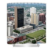 Fiberglass Tower Toledo Ohio Shower Curtain