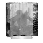 Fiction Shower Curtain