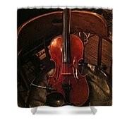 Fiddle Shower Curtain