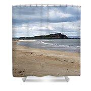 Fidra Island Lighthouse Shower Curtain