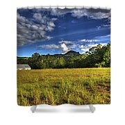 Field Bathed In Sunshine Shower Curtain