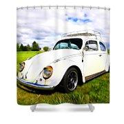 Field Bug Shower Curtain