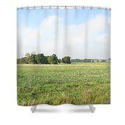 Field In France Shower Curtain