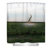 Field Monster Shower Curtain