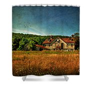 Field Of Broken Dreams Shower Curtain
