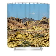 Field Of Color Shower Curtain