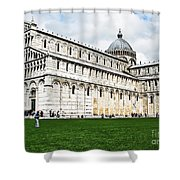 Field Of Dreams Cathedral Shower Curtain