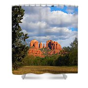 Field Of Dreams Shower Curtain
