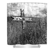 Field Of Faith Shower Curtain