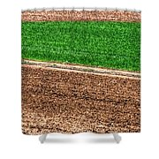 Field Of Green 14552 Shower Curtain