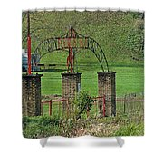 Field Of Honor Shower Curtain