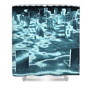 Field Of Lost Spirits Shower Curtain
