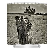 Field Off Slaughter Rd 2 Shower Curtain