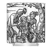 Field Surgeon, 1547 Shower Curtain