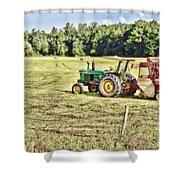 Field Work Shower Curtain