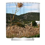 Fields Shower Curtain