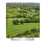 Fields In Northern Ireland Shower Curtain