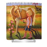 Fields Of Blessing Shower Curtain