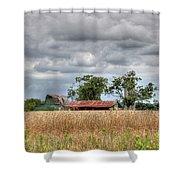 Fields Of Golden Grain Shower Curtain