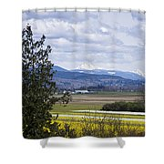 Fields Of Spring Shower Curtain