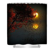 Fiery Fall... Shower Curtain