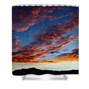Fiery Skies Shower Curtain