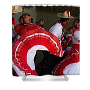 Fiesta De Los Mariachis Shower Curtain