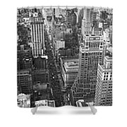 Fifth Avenue In New York City. Shower Curtain