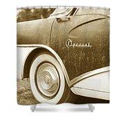 Fifties Buick Shower Curtain