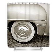 Fifties Plymouth I I Shower Curtain
