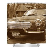 Fifties Volvo Shower Curtain