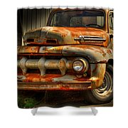 Fifty Two Ford Shower Curtain by Thomas Young