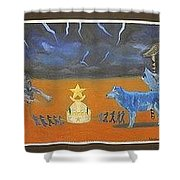 Fight For Power Shower Curtain