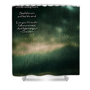 Fight For Your Dreams Shower Curtain
