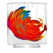 Fight Of Colors Shower Curtain