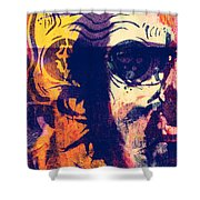 Fight The Demons  Shower Curtain