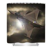 Fighter Jet Shower Curtain