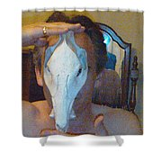Figure Animal Skull 1 12 2011 Shower Curtain