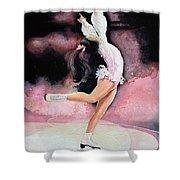 Figure Skater 20 Shower Curtain